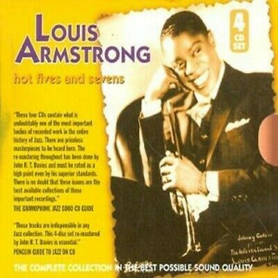 Louis Armstrong - Hot Fives and Sevens [New CD] Boxed Set