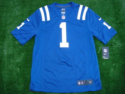 detailed look 57cd3 2d687 NEW NIKE INDIANAPOLIS Colts Pat McAfee BLUE Jersey HOF Super RARE SIZE M  $100