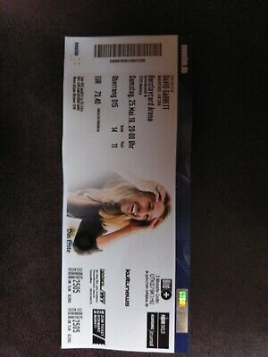 1xDAVID GARRETT TICKET HAMBURG 25.05.19