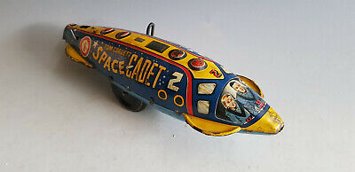 Tom Corbett Space Cadet 2 Polaris Rocket by Marx around 1952 Space Toy USA Rare!