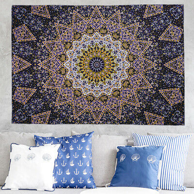 Art Tapestry Room Bedspread Wall Hanging Tapestry Bohemian Fashion Printed Decor
