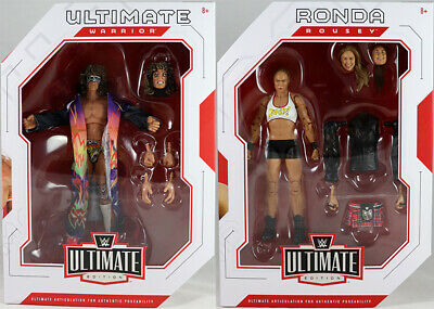 WWE Ultimate Edition 1 - Complete Set of 2 Mattel Toy Wrestling Action Figures