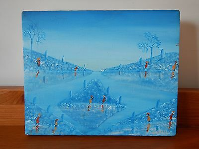 Haitian Painting -  JEAN LOUIS - signed painting