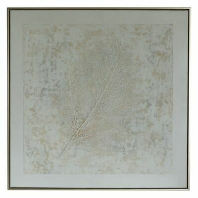 NEW OneWorld Collection Coral Branch Framed Canvas Print