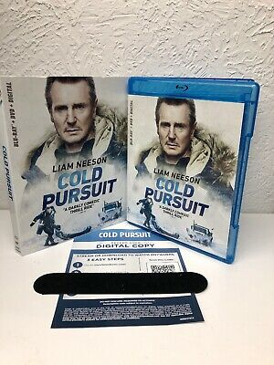 Cold Pursuit 2019 Liam Neeson Blu Ray + Digital HD (NO DVD INCLUDED) Please Read