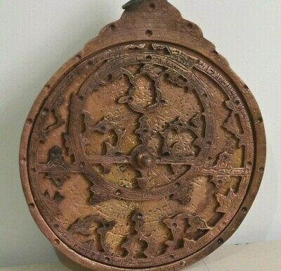 Antiques Ottoman Astrolabe  handmade Old and rare