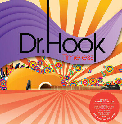 DR. HOOK - Timeless (2-CD, Apr-2015)  ** Definitive 41 Song Collection ** IMPORT