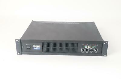 AS IS QSC CX204V Direct 70V Power Amplifier 4 / Four Channel AMP