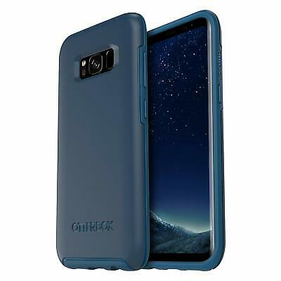 Genuine OtterBox Samsung Galaxy S8 Symmetry Series ShockProof Case Cover Blue