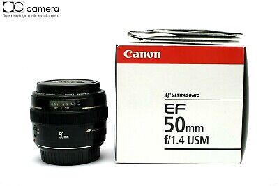 Clean Condition Canon EF 50mm f1.4 USM Autofocus Lens with Box  #29505