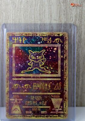 Ancient Mew Holo Pokemon Card PROMO MOVIE 2000 Set Top Loaded PLY-NM