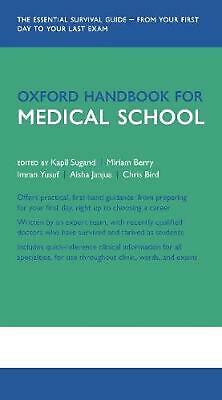 Oxford Handbook for Medical School Free Shipping!
