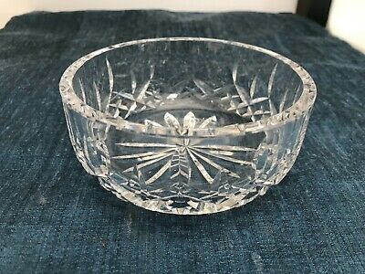 "SUPERB VINTAGE 5 1/8"" Waterford LISMORE CUT CRYSTAL BOWL All Purpose MINT!!"