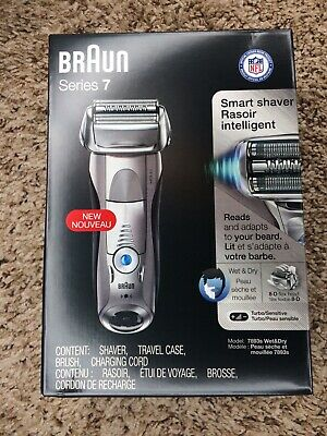 Braun Series 7 7893S Electric Foil Shaver wet & dry new in box
