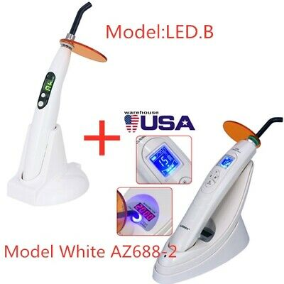 Dental LED lamp curing light Wireless 2000MW with white light Meter LED-B USA