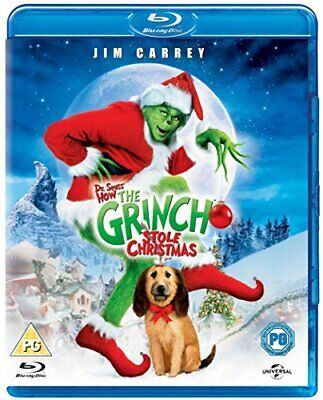 The Grinch [Blu-ray] [2000] [Region Free] - DVD  1AVG The Cheap Fast Free Post