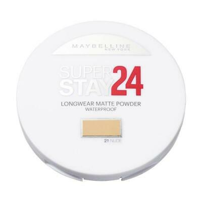 2 X Maybelline Superstay 24HR Longwear Matte Powder Waterproof - 21 Nude