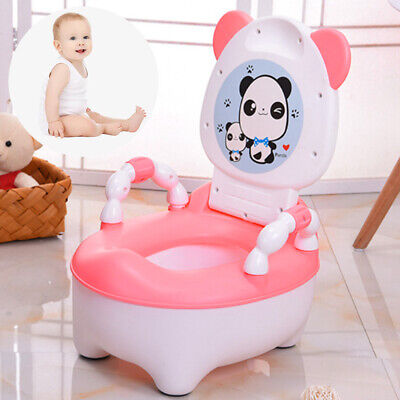 Baby Toddler Fun Potty Training Toilet Seat Toilet Trainer Chair Stool Cartoon