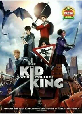 The Kid Who Would Be King DVD 2019 Action, Family Adventure Fast Fast Shipping🚀