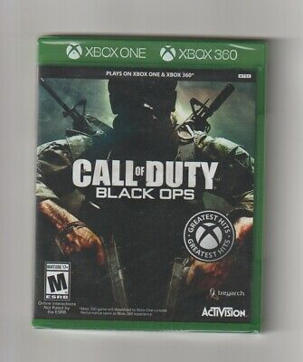 Call of Duty Black Ops for the XBOX ONE & 360 - Backward Compatible GAMES LOT