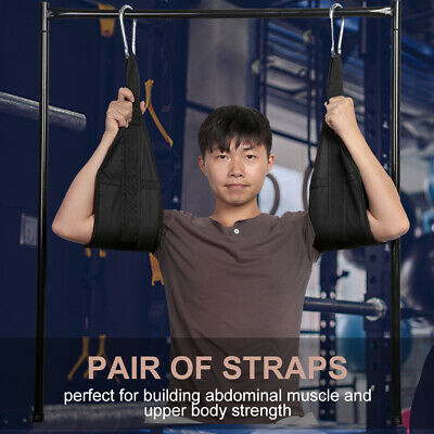 Fitness Ab Straps Hanging Abdominal Slings Quick Locks Pull Up B Abdominal Exercisers