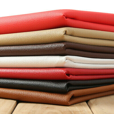 PU Leather Fabric Faux Leather For Sewing Bag Clothing Sofa Car Material DIY New