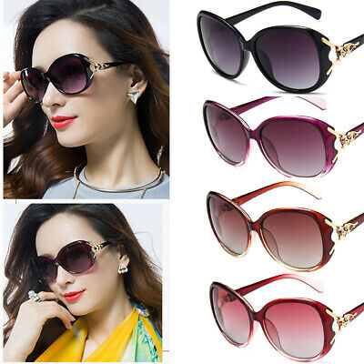 Ladies Womens Designer Polarized Sunglasses Oversized Driving Eyewear UV400 Lens