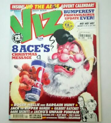 Viz Comic Magazine Number 121 December 2002 Collectable Adult Humour Humor *