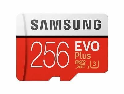 Samsung 256GB micro SD SDXC Evo Plus + Memory Card 4K Galaxy S7 S8 S9 S10 Phone