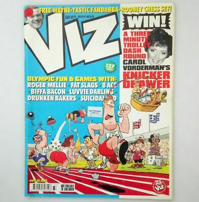 Viz Comic Magazine Number 137 August 2004 Collectable Adult Humour Humor *