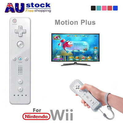 AU Wiimote Built in Motion Plus Inside Game Remote Controller For Nintendo Wii