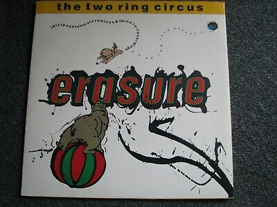 Erasure-The Two Ring Circus LP-2 x 12 inch Maxi LP-1987 UK-L stumm 35