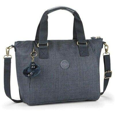 Sac épaule Kipling AMIEL Cotton True Blue 27 CM