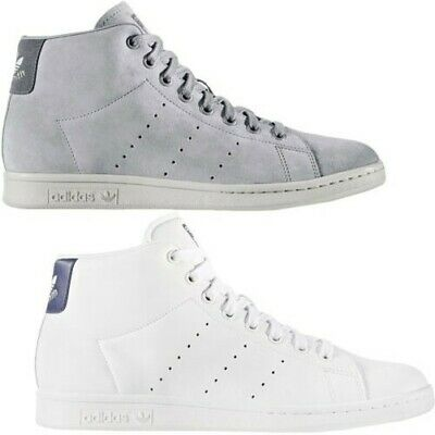 3827e829fcf Adidas Originals Uomo Stan Smith Mid Rise Lacci Casual Scarpe Sneakers da