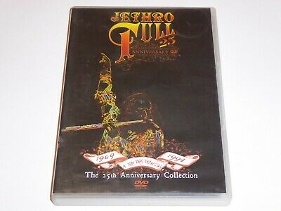 Jethro Tull - A New Day Yesterday: 25th Anniversary Collection - GENUINE UK DVD