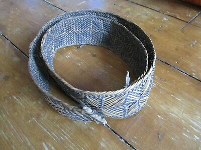 Antique S.E.Asian woven RATTAN BELT
