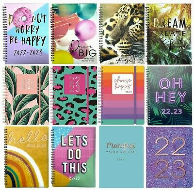 2019 2020 Academic Diary A5 Page a day or week to view mid year Diary