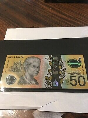 FIRST PREFIX -  IN STOCK -  2018 $50 note - New Generation AA18