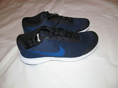 outlet store a5f21 43506 Nike Flex Experience RN Run 4E AA7405 003 man black blue shoes Brand New