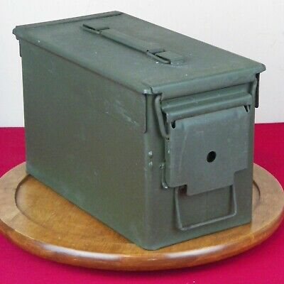 Military Steel Box Shotgun Rifle Gun Ammo Storage 3 Available