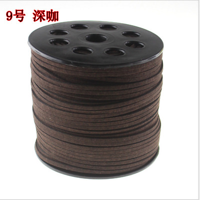 DIY Wholesale Jewelry Making Cord Suede Leather String Bracelet Thread 10yd 3mm