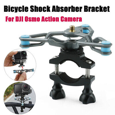 For DJI Osmo Action Camera Bicycle Shock Absorber Bracket Extended Fixed Holder