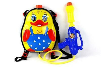 Water Gun Pistol Outdoor Shoot Blaster Squirter Back Pack Tank Soaker Kid Toy UK
