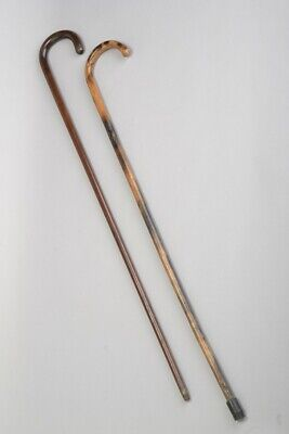 Victorian Bamboo & Exceptional Heavy Exotic Hardwood Walking Sticks / Canes. LGM