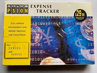 Vintage - Psion Series 3a / 3c  SOFTWARE : EXPENSE TRACKER (For Collectors etc)