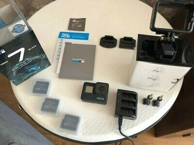 GoPro HERO7 Action Camera - Black with 64GB memory card