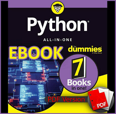 Python All-In-One for Dummies 2019. 7in1 (ebook_pdf)(NEW)