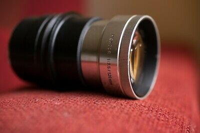 Leica 120mm 2.5 lens for Sony E or Canon EF mount Hektor Germany 120 f/2.5 Leitz