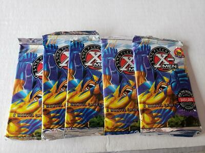 30 Sealed Packs 1996 Fleer X Men 6 Cards Per  Pack Marvel No Box Wolverine Foil