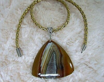 Natural, Very Impressive Agate Gemstone Pendant.